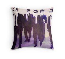 mr purple Throw Pillow