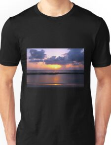 Pink and Purple Seven Mile Sunset in the Caribbean Unisex T-Shirt