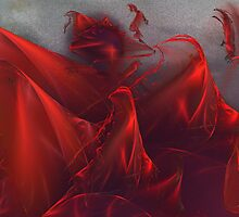 Blood Red Veils by jasetdesign