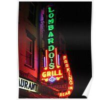 Lombardo's Grill Poster