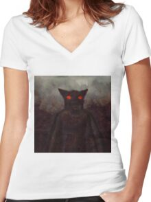 Werewolf by Sarah Kirk Women's Fitted V-Neck T-Shirt
