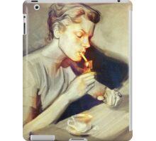 Lauren Bacall iPad Case/Skin