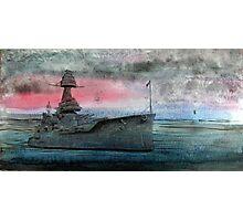Battleship Texas Photographic Print