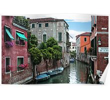 Venetian Waterways Poster