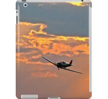 Japanese Zero Fighter Plane at Sunset iPad Case/Skin