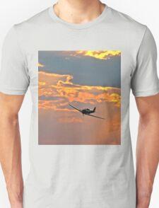 Japanese Zero Fighter Plane at Sunset T-Shirt