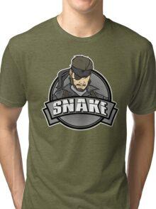 Solid Snake Tri-blend T-Shirt