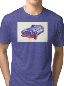Austin Healey 300 Sports Car Pop Image Tri-blend T-Shirt