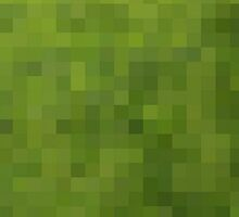Pixel Grass by thelittleforest