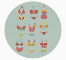 Bikini Collection on Mint Kids Tee