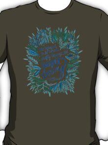 Zelda Fitzgerald – Blue on White T-Shirt