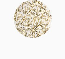 Gold Branches Unisex T-Shirt