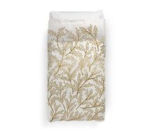 Gold Branches Duvet Cover