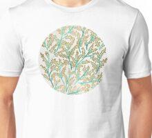 Green & Gold Branches Unisex T-Shirt