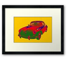 1962  Porsche 356 E Pop Art Framed Print
