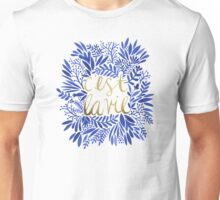 That's Life – Gold & Blue Unisex T-Shirt