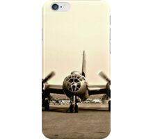 B-29 Bomber Plane - Classic Aircraft iPhone Case/Skin