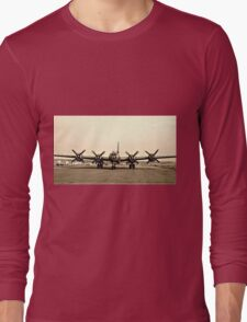 B-29 Bomber Plane - Classic Aircraft Long Sleeve T-Shirt