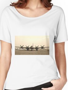 B-29 Bomber Plane - Classic Aircraft Women's Relaxed Fit T-Shirt