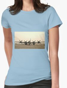 B-29 Bomber Plane - Classic Aircraft Womens Fitted T-Shirt