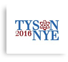 Tyson Nye 2016 Canvas Print