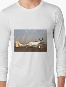 P-51 Mustang Fighter Plane Long Sleeve T-Shirt