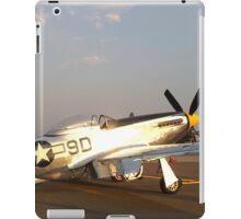 P-51 Mustang Fighter Plane iPad Case/Skin
