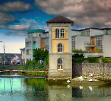 Canal in Galway - County Clare, Ireland by Mark Richards
