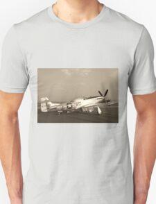 P-51 Mustang Fighter Plane - Classic War Bird T-Shirt