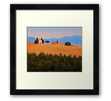 Val d'Orcia Serenity Framed Print