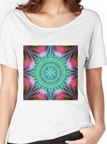 Beautiful morning, fractal abstract pattern design Women's Relaxed Fit T-Shirt