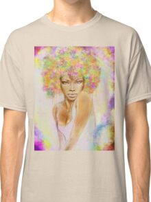 The girl with new hair style Classic T-Shirt