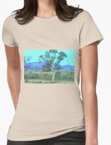 A breathtaking landscape Womens Fitted T-Shirt