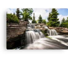 Richmond Green Waterfall Canvas Print