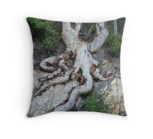 Roots (No1) Throw Pillow