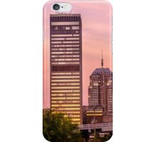 Oklahoma City Downtown Skyline at sunrise iPhone Case/Skin