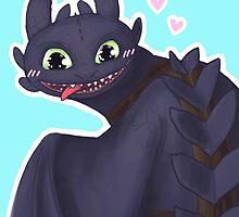 Toothless by enerjax
