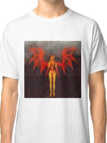 Red Fairy Queen by Sarah Kirk Classic T-Shirt