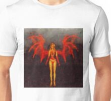 Red Fairy Queen by Sarah Kirk Unisex T-Shirt