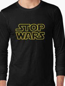 STOP WARS Long Sleeve T-Shirt