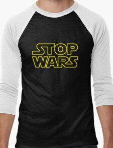 STOP WARS Men's Baseball ¾ T-Shirt