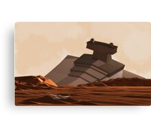 Battle of Jakku Canvas Print
