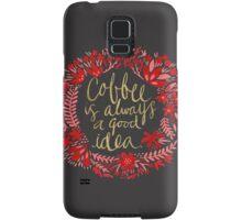 Coffee on Charcoal Samsung Galaxy Case/Skin