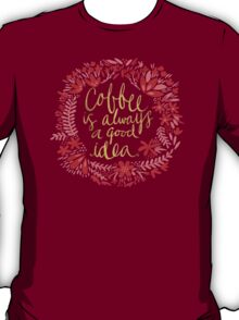 Coffee on Charcoal T-Shirt