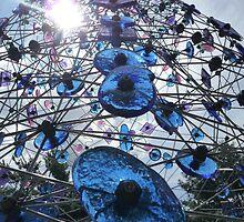 Glass Tower- Sculpture Gardens, New Jersey by Amanda Yetman