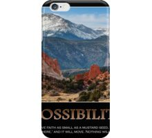 The Possibilities - Inspirational Panorama iPhone Case/Skin