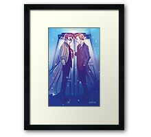 Ten and Eleven Framed Print