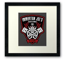 Immortan Joe's Customs Framed Print