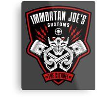 Immortan Joe's Customs Metal Print