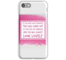 Roald Dahl Sunbeams Quote iPhone Case/Skin